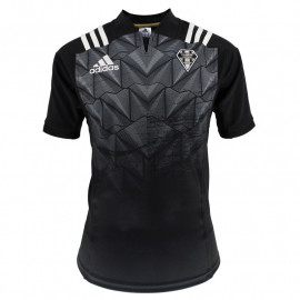 MAILLOT AUTHENTIQUE NOIR 18-19 SS SPONS GPS