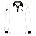 POLO RUGBY HOMME BLANC