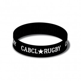 BRACLET SILICONE - NOIR