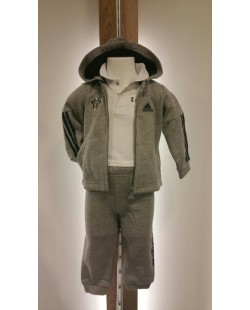 SURVETEMENT BEBE ADIDAS CABCL GRIS BP5299
