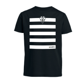 T-SHIRT ENF RAY NOIR