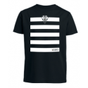 T-SHIRT ENF MC RAY NOIR