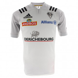 MAILLOT COLLECTOR HOMME BLANC AVEC SPONSORS 2017-18