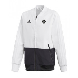 VESTE KID WHITE/BLACK ADIDAS 4304