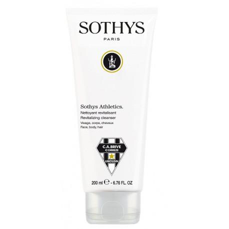 Sothys Athletics. Nettoyant revitalisant - Visage, corps, cheveux