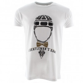 T-SHIRT HOMME MC GENTLEMEN BLANC