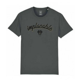 """T-SHIRT GRIS """"IMPLACABLE"""""""
