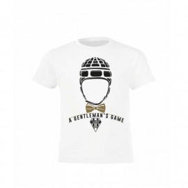 T-SHIRT CABCL KID GENTLEMEN BLANC