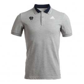 POLO HOMME MC ADIDAS-CABCL GRIS CHINE 12888