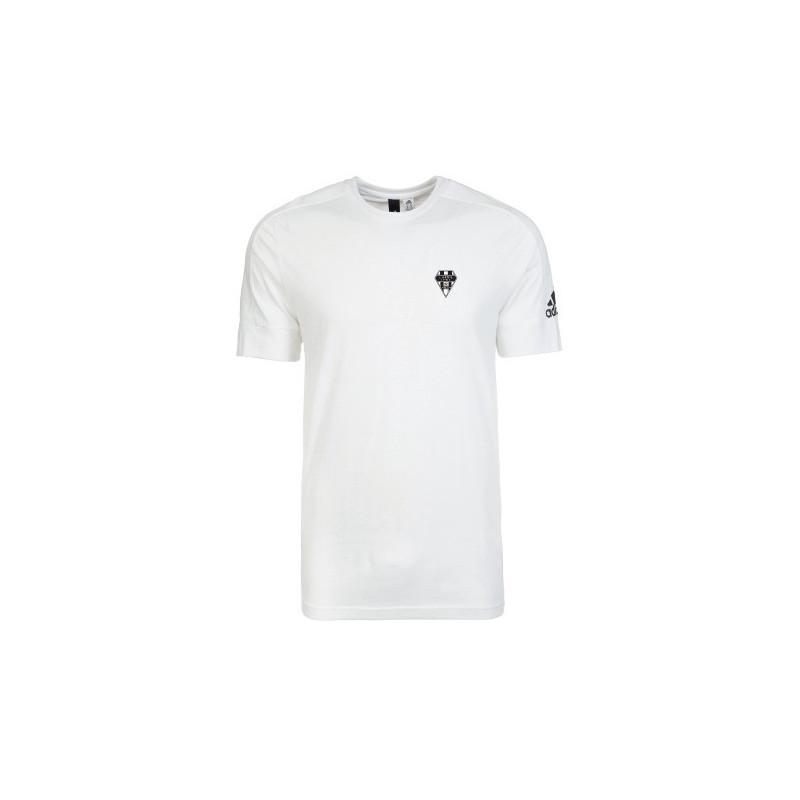 t shirt adidas hommes blanc